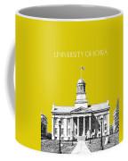 University Of Iowa - Mustard Yellow Coffee Mug