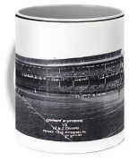 University Of Pittsburgh Vs W And J College Forbes Field Pittsburgh Pa 1915 Coffee Mug by Bill Cannon