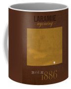 University Of Wyoming Cowboys Laramie Wy College Town State Map Poster Series No 128 Coffee Mug