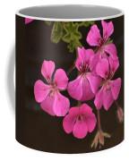 Pink Geranium Flower Coffee Mug