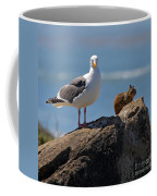 Unlikely Friends By Diana Sainz Coffee Mug by Diana Sainz
