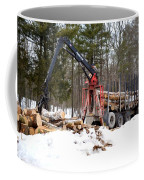 Unloading Firewood 1 Coffee Mug