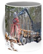 Unloading Firewood 2 Coffee Mug