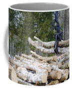 Unloading Firewood 4 Coffee Mug