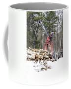 Unloading Firewood 5 Coffee Mug