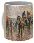 Unloading The Catch Coffee Mug by Harry Fidler