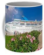 Unnamed Cruiser Docked On Waterfront Coffee Mug