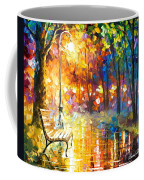 Unresolved Feelings - Palette Knife Oil Painting On Canvas By Leonid Afremov Coffee Mug