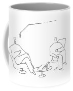 I Found Your Book  'canoeing The Small Puddles Coffee Mug