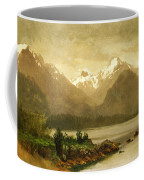 Untitled Mountains And Lake Coffee Mug