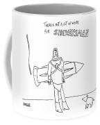 Sidewaysman Coffee Mug