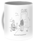 Not On The List? I Invented The List! Coffee Mug