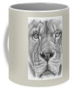 Up Close Lion Coffee Mug