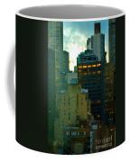Up - Skyscrapers Of New York Coffee Mug