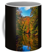 Up The Lazy River Painted Coffee Mug