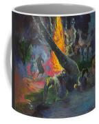 Upa Upa.the Fire Dance Coffee Mug