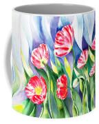 Upcoming Wind Poppy Field Coffee Mug by Irina Sztukowski