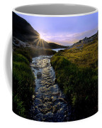 Upper Blue Sunrise Coffee Mug
