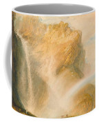 Upper Fall Of The Reichenbach - Rainbow Coffee Mug
