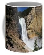 Upper Falls Yellowstone National Park Coffee Mug