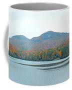 Upper Lake Toxaway In The Fall 2 Coffee Mug
