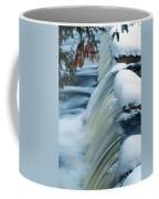 Upper Most Part Of Bond Falls Coffee Mug
