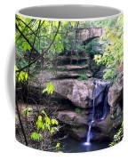 Upper Old Mans Cave Falls Coffee Mug