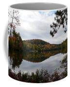 Upper Saranac Bay In Fall Coffee Mug