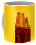 Upper West Side And Hudson River Manhattan Coffee Mug