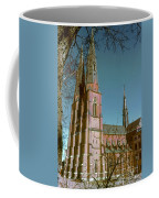 Uppsala Cathedral Spires  Coffee Mug