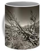 Uprooted - Bryce Canyon Sepia Coffee Mug