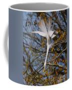 Upside Down Egret Coffee Mug