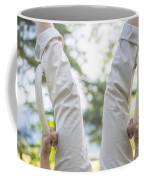Upside Down Coffee Mug