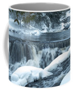 Upstream At Bond Falls Coffee Mug