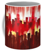 Urban Abstract Evening Lights Coffee Mug