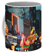 Urban Abstract Nashville Neon Coffee Mug by Dan Sproul