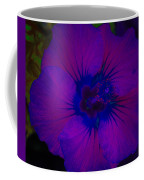 Urban Art Hibiscus II Coffee Mug