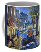 Urban Avenue By Prankearts Coffee Mug by Richard T Pranke