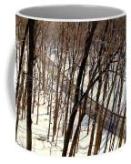 Urban Forest At Dusk Coffee Mug