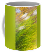 Urban Nature Fall Grass Abstract Coffee Mug