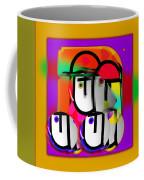 Urban Spaceman Coffee Mug by Charles Stuart