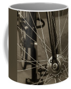 Urban Spokes In Sepia Coffee Mug