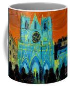 Urban Story - The Festival Of Lights In Lyon Coffee Mug