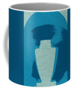Urn On Canvas Coffee Mug