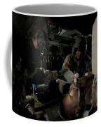 U.s. Army Medics Simulating Ventilation Coffee Mug