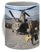 U.s. Army Sergeant Helps Unload Band Coffee Mug