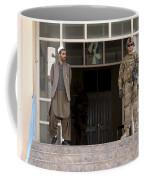 U.s. Army Soldier Stands Guard In Farah Coffee Mug