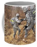 U.s. Army Soldiers Helps A Fellow Coffee Mug