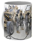 U.s. Army Soldiers Jump Start A Light Coffee Mug