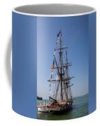 U.s. Brig Niagara Coffee Mug by Dale Kincaid